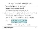 Bài giảng điều khiển tự động - Chương 7