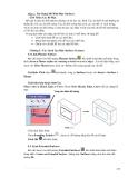 Hướng dẫn sử dụng solidwork 2004 - Phần 2 xây dựng mô hình mặt (surface) - Chương 5