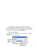 Hướng dẫn sử dụng solidwork 2004 - Phần 3 Xây dựng mô hình lắp ráp (ASSEMBLY) - Chương 8