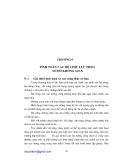 Nhà cao tầng - Phần II Kết cấu và nền móng - Chương 9