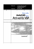 Phát triển AutoCAD bằng ActiveX & VBA - Ứng dụng mẫu