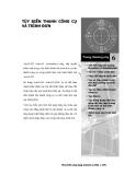 Phát triển AutoCAD bằng ActiveX & VBA - Chương 6