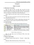 Hướng dẫn sử dụng OpenOffice.org Writer - Chương 6