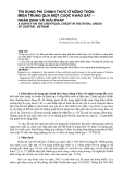 """Báo cáo nghiên cứu khoa học: """"TÍN DỤNG PHI CHÍNH THỨC Ở NÔNG THÔN MIỀN TRUNG QUA MỘT CUỘC KHẢO SÁT – NHẬN ĐỊNH VÀ GIẢI PHÁP"""""""