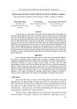 """Báo cáo nghiên cứu khoa học: """"  NHẬN DẠNG HÀNH VI UỐNG THUỐC SỬ DỤNG STEREO CAMERA"""""""