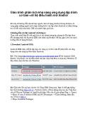 Giáo trình phân tích khả năng ứng dụng lập trình cơ bản với hệ điều hành mở Androi p1