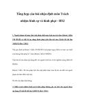 Tổng hợp câu hỏi nhận định môn Trách nhiệm hình sự và hình phạt - HS2