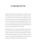 Tài liệu về XÃ HỘI HỌC ĐÔ THỊ