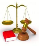 Đề thi môn Tư pháp Quốc tế - 1