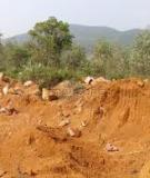 Giáo trình cơ học đất - Chương 7 Áp lực đất lên tường chắn