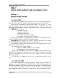 GIÁO TRÌNH CAD/CAM - PHẦN 5 CÔNG NGHỆ NHÓM VÀ KẾ HOẠCH GIA CÔNG  - CHƯƠNG 12