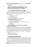 GIÁO TRÌNH CAD/CAM - PHẦN 5 CÔNG NGHỆ NHÓM VÀ KẾ HOẠCH GIA CÔNG  - CHƯƠNG 13