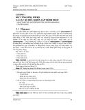 GIÁO TRÌNH CAD/CAM - PHẦN 1 MÁY TÍNH VÀ NỀN TẢNG CỦA CAD/CAM - CHƯƠNG 3