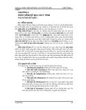 GIÁO TRÌNH CAD/CAM - PHẦN 2 CAD - THIẾT KẾ NHỜ MÁY TÍNH  - CHƯƠNG 6