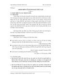 Quy hoạch thủy lợi - Chương 1