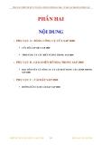 TÍNH TOÁN THIẾT KẾ KẾT CẤU BẰNG CHƯƠNG TRÌNH SAP 2000 - BẢNG CÔNG CỤ CỦA SAP 2000