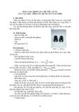 TÍNH CHẤT CƠ LÝ CỦA VẬT LIỆU - BÀI 5