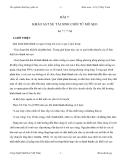 Thí nghiệm Sinh học phân tử - Bài 7