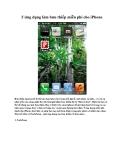 5 ứng dụng làm bưu thiếp miễn phí cho iPhone