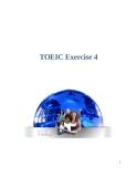 TOEIC Exercise 4