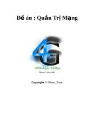 Đề án: Quản Trị Mạng - Mạng 4G tiêu chuẩn