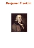 Benjamen Franklin