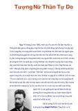 Tìm hiểu về Tượng Nữ Thần Tự Do