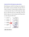 Chuyển đổi file PDF thành form nhận dữ liệu