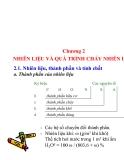 Bài giảng - Kỹ thuật cháy - chương 2