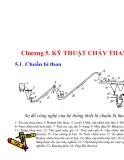 Bài giảng - Kỹ thuật cháy - chương 5