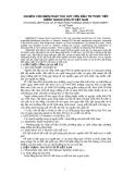 NGHIÊN CỨU BIỆN PHÁP THU HÚT VỐN ĐẦU TƯ TRỰC TIẾP NƯỚC NGOÀI Ở VIỆT NAM