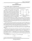 Bài giảng kỹ thuật điện tử - Chương 3