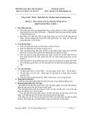 Ứng dụng excel trong tính toán thiết kế đường - Chương 1