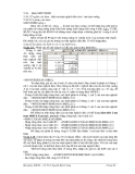 Ứng dụng excel trong tính toán thiết kế đường - Chương 2 (phần cuối)
