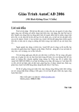 Giáo trình AutoCad 3D - Chương 1