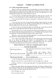 Giáo trình hóa và vi sinh vật nước - Chương 5
