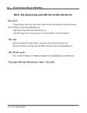 Bài giảng thực hành lập trình web 2 - Bài 6