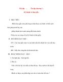 Giáo án lớp 1 môn Thủ Công: Bài dạy :Ôn tập chương 1 :Kỹ thuật xé dán giấy
