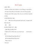 Giáo án lớp 1 môn Tự Nhiên Xã Hội: Bài 15 : Lớp học