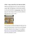 zFlick - Công cụ tìm kiếm và tải ảnh trên Flickr