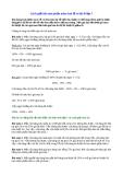 Phương pháp giải toán lớp 5 - Cách giải bài toán phần trăm tính lỗ và lãi ở lớp 5