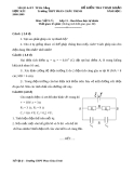 Đề thi học kì môn vật lí 11