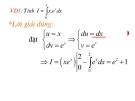 Một số bài toán về tích phân