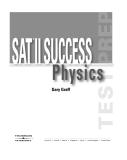SAT II Physics (Gary Graff) Episode 1 Part 1