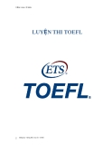 SÁCH  LUYỆN THI TOEFL