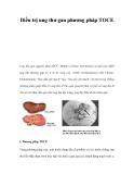 Điều trị ung thư gan phương pháp TOCE