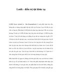 Lasik - điều trị tật khúc xạ