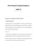Thị trường kế tự động Humphrey (phần 3)