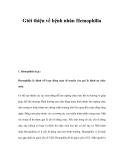 Giới thiệu về bệnh nhân Hemophilia