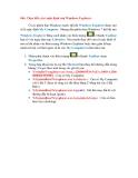 Thủ thuật Windows 7: Phần 4